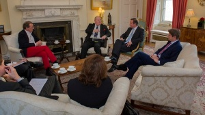 I meet with David Cameron, Eric Pickles and Greg Clarke to talk about Bristol.