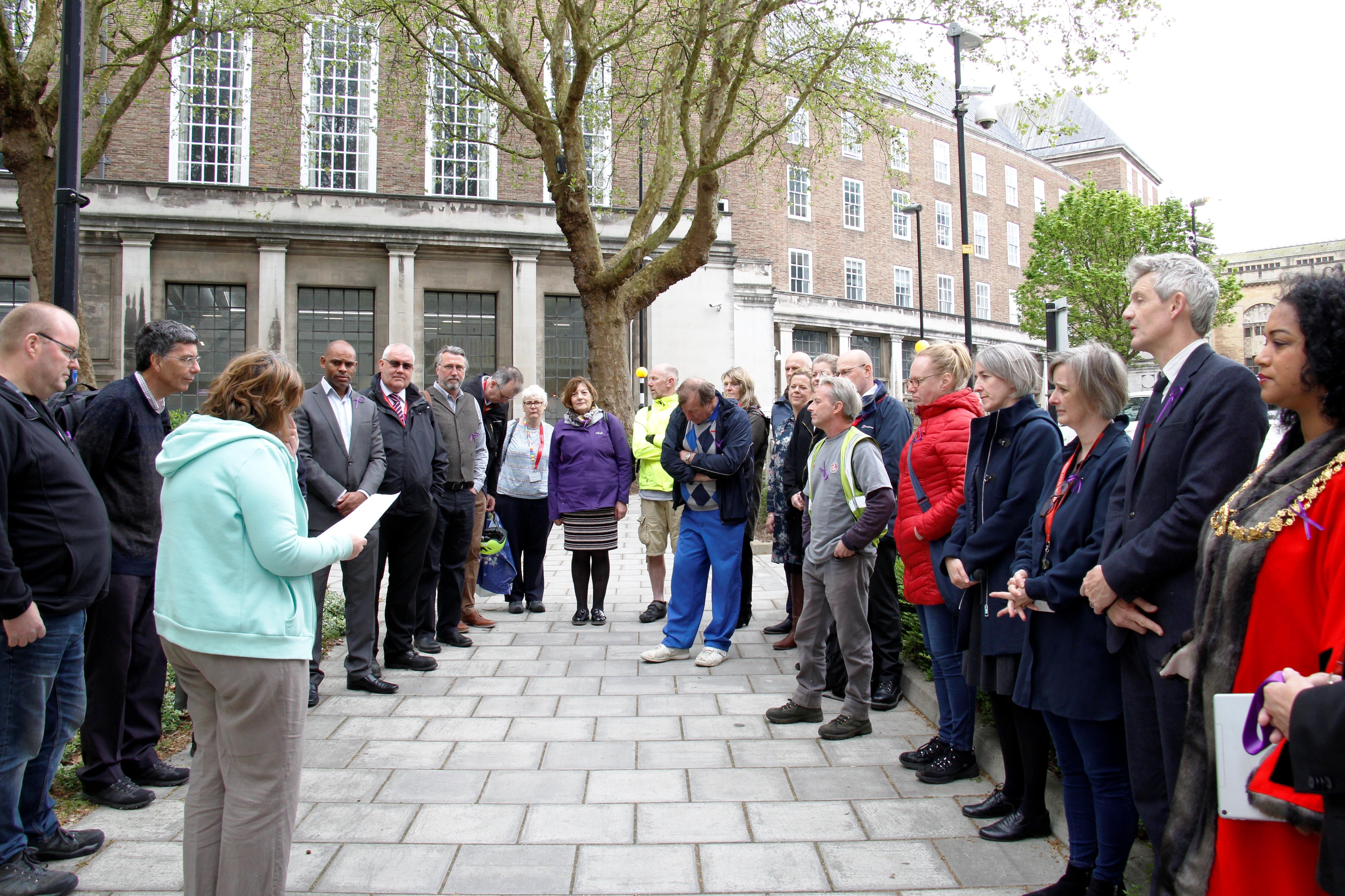 International Workers Memorial Day The Bristol Mayor